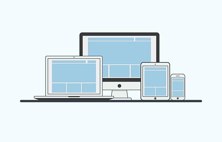 レスポンシブデザインの各デバイス
