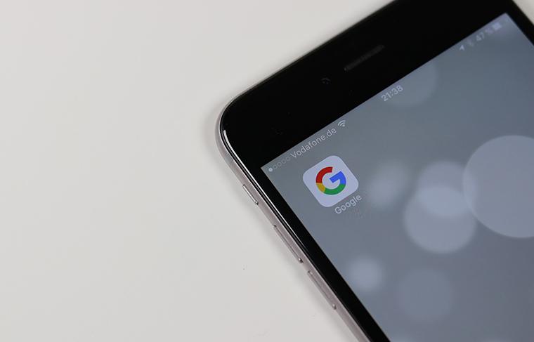 スマートフォンのGoogleアプリ