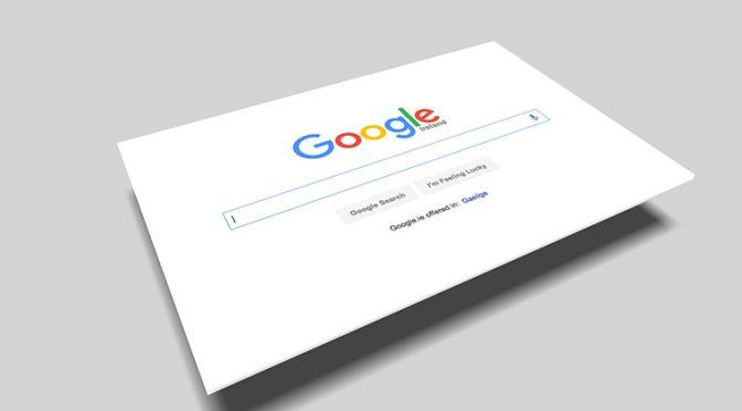 Google検索画面トップページのイメージ