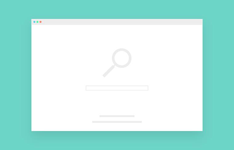 検索エンジンのインターフェース