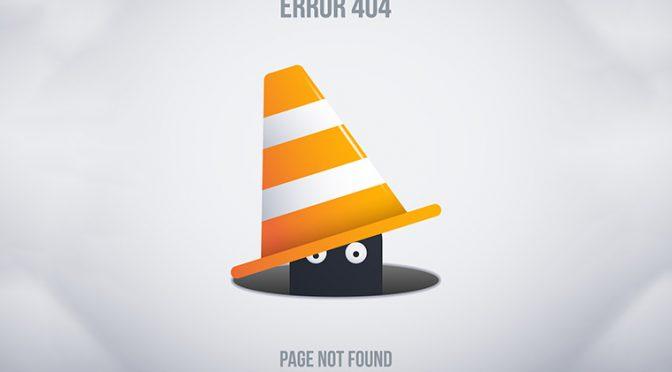 404エラーのイメージ画像