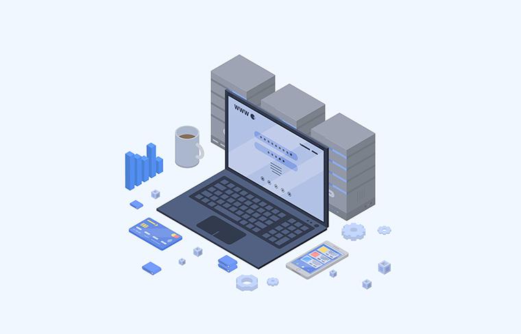 端末とサーバーの通信